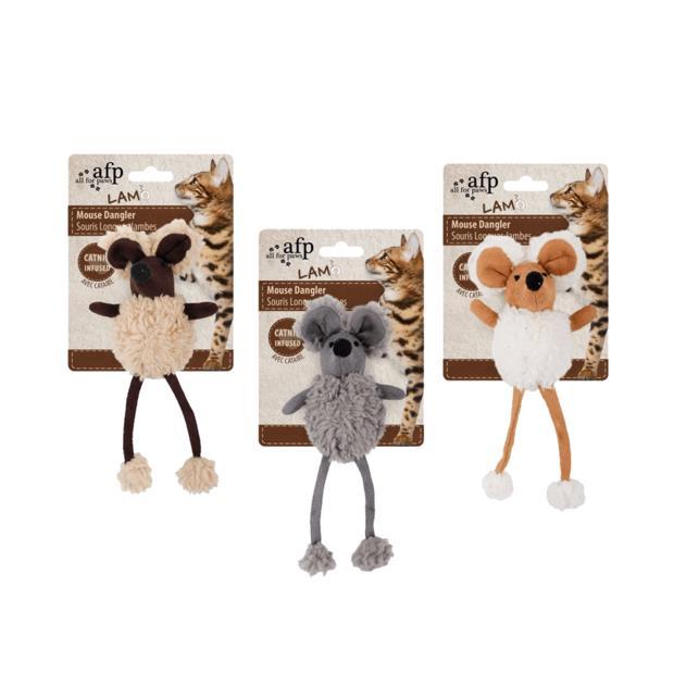 Afp Lamb Mouse Dangler Cat Toy Each Pet: Cat Category: Cat Supplies  Size: 0kg  Rich Description: The...