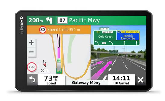 Crisp 7-inch touchscreen display Custom truck routing Truck parking Australia & New Zealand Popular...