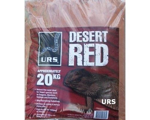 Desert Red Sand in 20kg (approximately) bags is natural fine sand that is the ideal substrate for many...