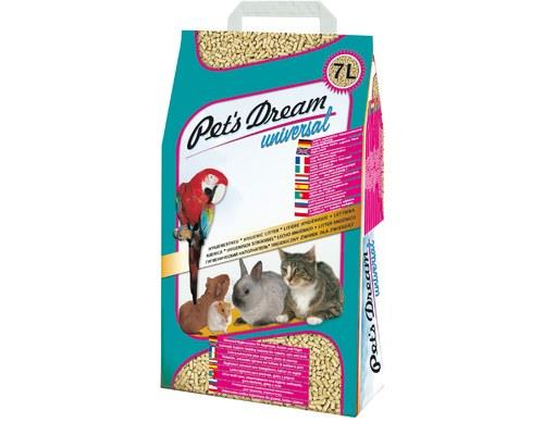 PETS DREAM UNIVERSAL LITTER 4KGPet's Dream Universal is an organically-based natural product produced...
