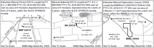 Objections or Submissions to mineral title applications (s71 [3])    The landowner(s) of land in...