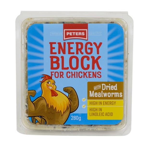 Peters Energy Block Mealworms 2 X 280g Pet: Bird Category: Bird Supplies  Size: 0.6kg  Rich...