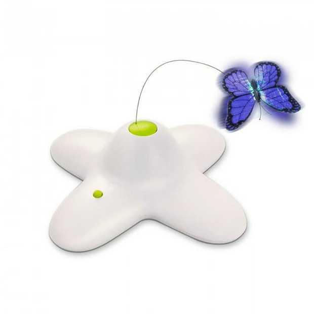 Afp Interactive Flutter Bug Each Pet: Cat Category: Cat Supplies  Size: 5kg Colour: White  Rich...