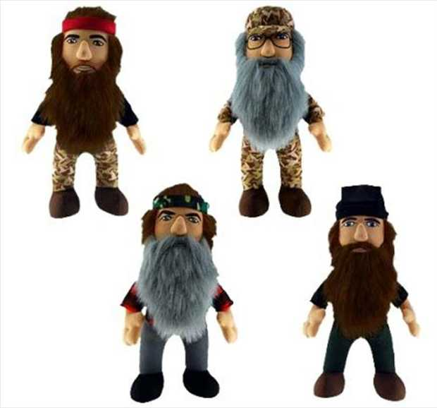 """Duck Dynasty - 8"""" Plush with Sound Assortment  * Price is per unit, stock is sent at random"""