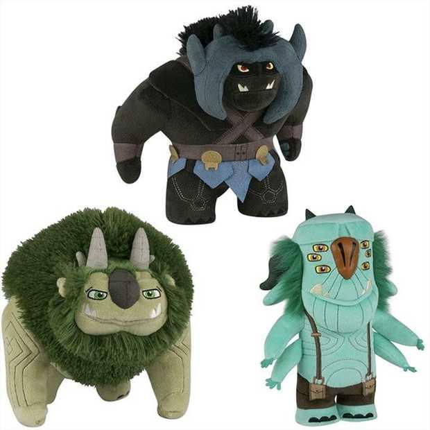 Trollhunters - Trolls Plush Assortment [RS]  * Price is per unit, stock is sent at random