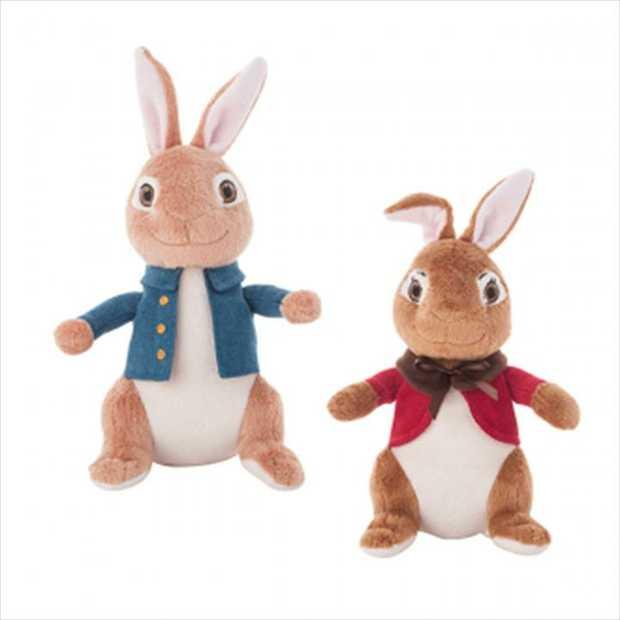 Peter Rabbit - Assorted Plush 18cm  * Price is per unit, stock is sent at random