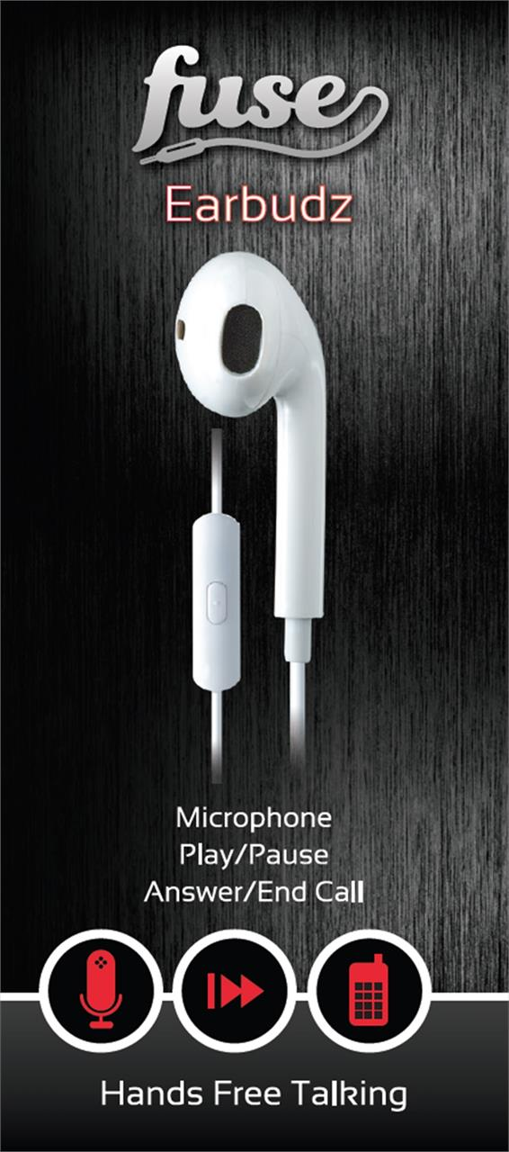 Style: In-ear headphones  Colour: White  10mm driver  In Line Microphone  Answer / End Call...