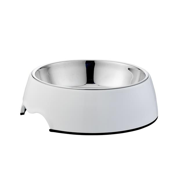 Paws For Life Bowl White 700ml Pet: Dog Category: Dog Supplies  Size: 0.5kg Colour: White Material:...
