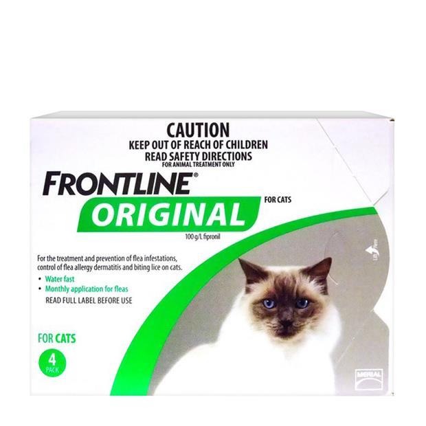 Frontline Original Cat Green 4 Pack Pet: Cat Category: Cat Supplies  Size: 0.2kg  Rich Description:...