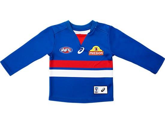 The Infant Replica Home Long Sleeve Guernsey features a lightweight performance polyester with a...