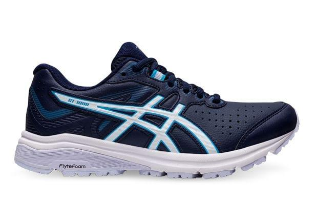 The all new Asics GT-1000 LE is built as a walking inspired training shoe. Featuring a leather vamp for...