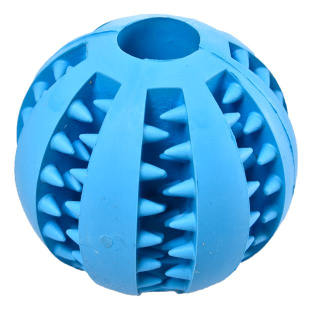 Paws For Life Interactive Treat Ball Large Pet: Dog Category: Dog Supplies  Size: 0.1kg Colour: Blue...