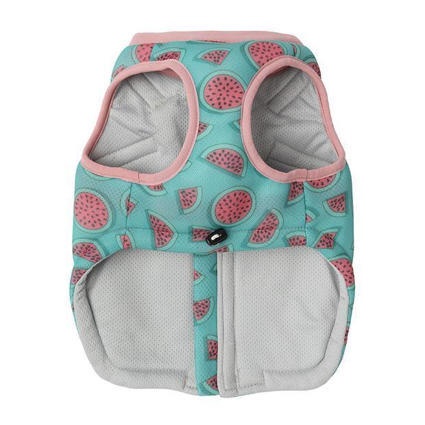 Fuzzyard Macgyver Cooling Vest Summer Punch Size 7 Pet: Dog Category: Dog Supplies  Size: 1.7kg Colour:...