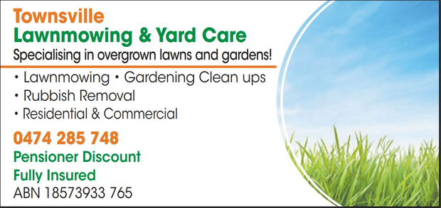 Townsville Lawnmowing & Yard CareSpecialising in overgrown lawns and gardens!LawnmowingGardening...