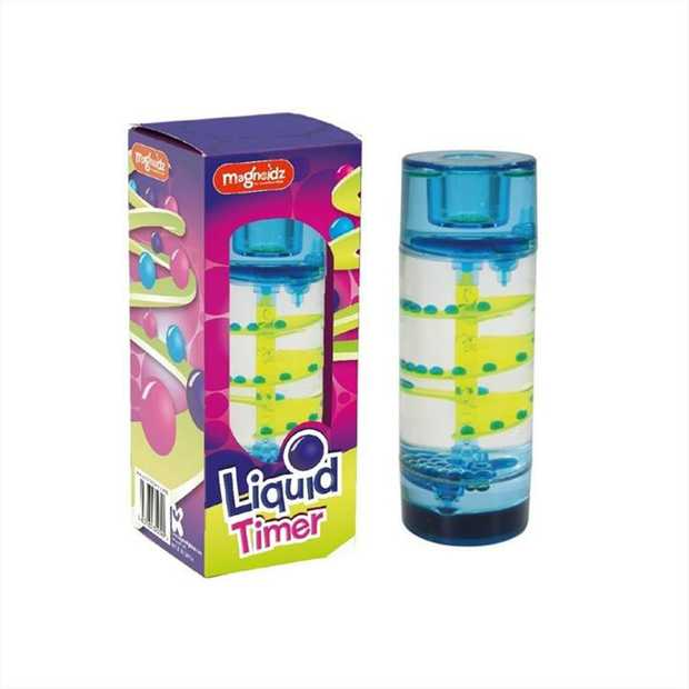 Watch the liquid flow as the time counts down  perfect addition for any childs...