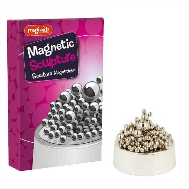 MAGNETIC ART - Magnetised base and metal spheres of varying sizes  CREATE YOUR OWN - Get...