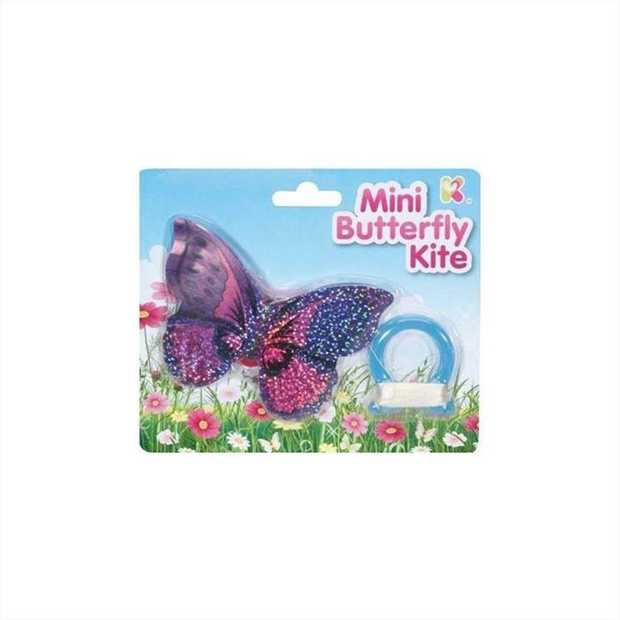 Take this mini butterfly kite on a breezy day. Fly it with your friends or loved ones. Toss it...