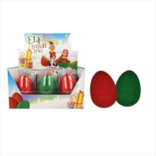 A fun twist on the traditional Christmas Elf! Now you can Hatch Your Own Christmas Elf with...