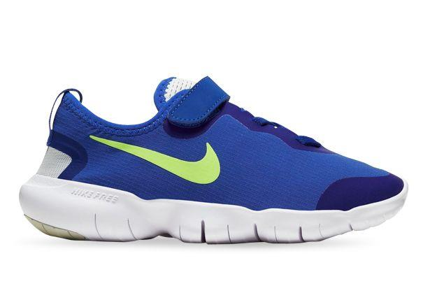 The Nike Free Run 5.0 Grade School shoe is a combination of flexiblility and comfortability built into...