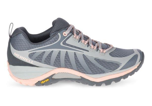 The Merrell Siren Edge 3 is specifically configured to the unique shape of a woman's foot, to provide...