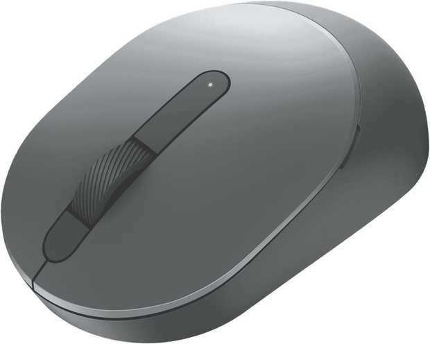 Work flexibly across up to three devices seamlessly with this sculpted Dell Multi-Device Wireless Mouse...