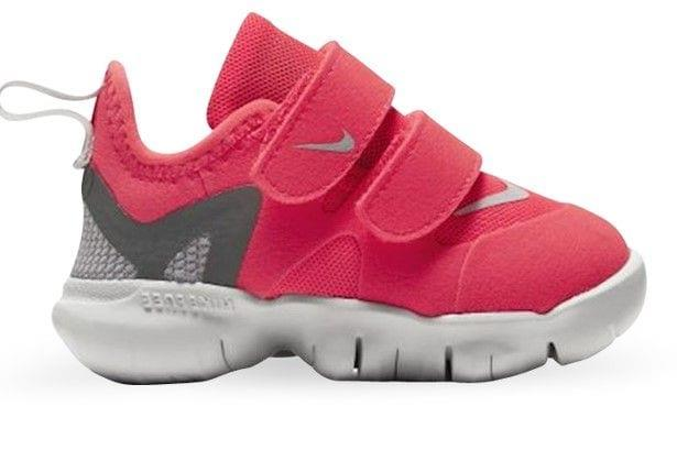 The Nike Free RN 5.0 Toddler uses Nike Free technology to create an easy take on and off shoe. This...