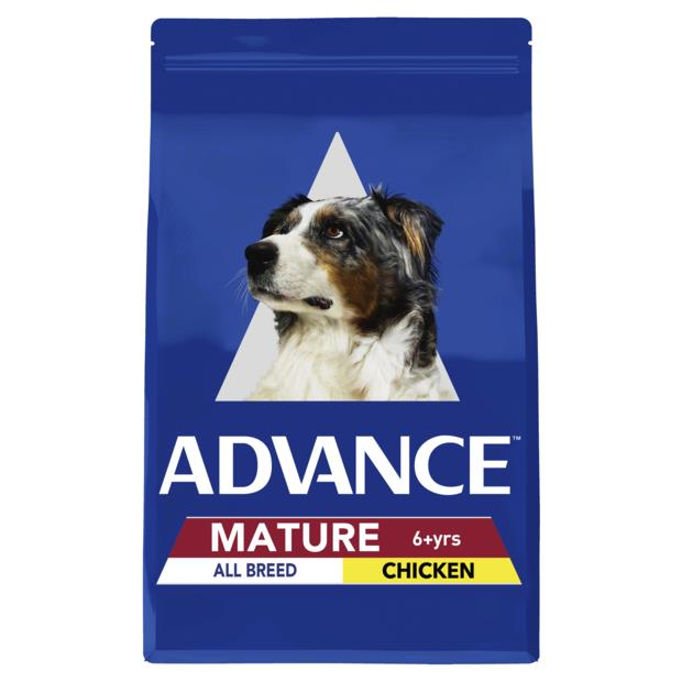 Advance Mature All Breed Dry Dog Food Chicken 15kg Pet: Dog Category: Dog Supplies  Size: 15.3kg  Rich...