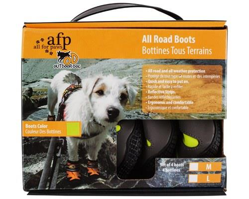 ALL FOR PAWS (AFP) OUTDOOR DOG BOOTS GREEN LARGEDogs paws are made to handle walking on all sorts of...