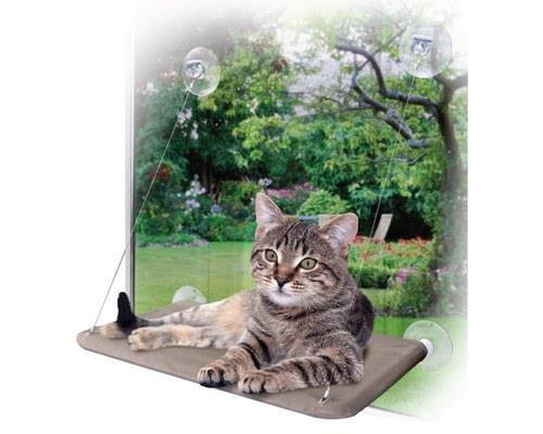 KAZOO THE LOOKOUT WINDOW CAT BED DESERT SAND 32X56CMThe Kazoo Lookout Window Cat Bed is so comfy and...