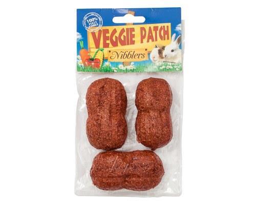 VEGGIE PATCH EDIBLE PEANUT NIBBLERS (X4)Go nuts for Veggie Patch Peanut Nibblers!Peanut nibblers are...