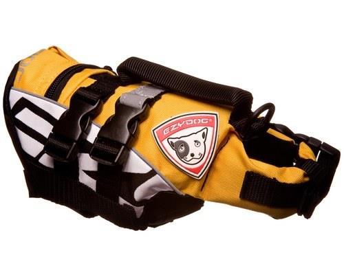 Ezy DogLife Jacket, Micro Dog Floatation Device, Yellow,2XSSize:Extra Extra...