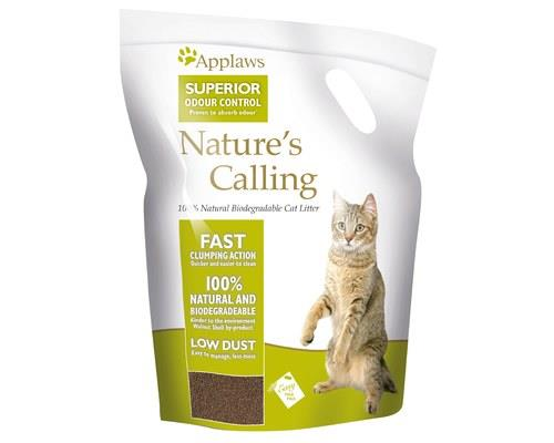 Applaws Nature's Calling Cat Litter, 2.7kgNature's Calling is a 100% natural and biodegradable cat...