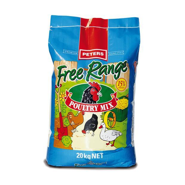 Peters Free Range Poultry Mix 20kg Pet: Bird Category: Bird Supplies  Size: 20kg  Rich Description:...