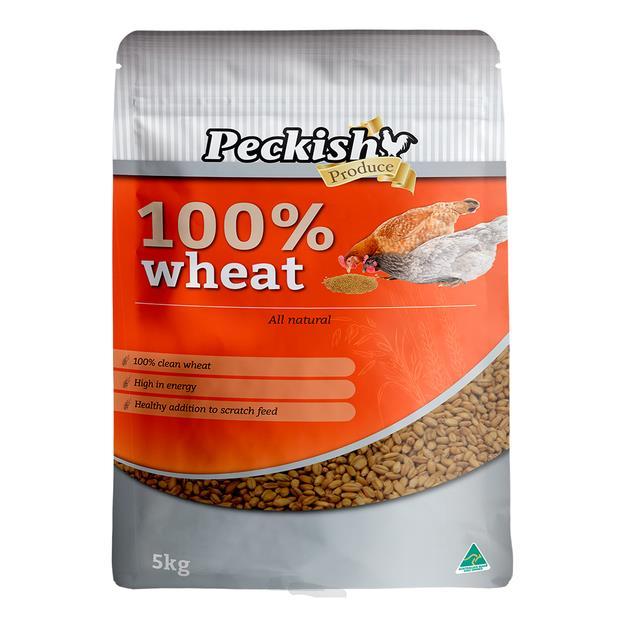 Peckish Wheat 5kg Pet: Bird Category: Bird Supplies  Size: 5.2kg  Rich Description: Made in Australia...
