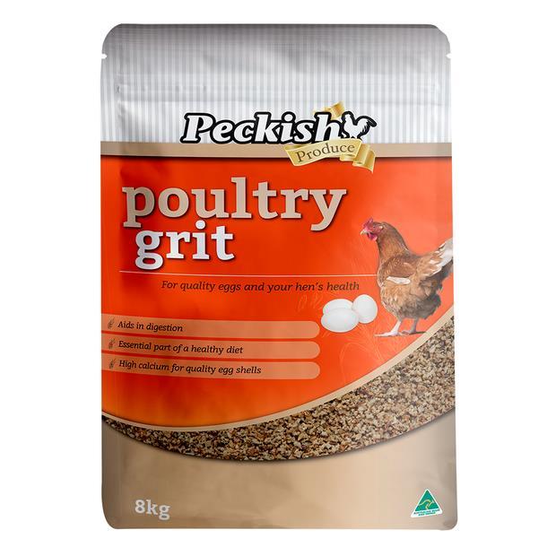 Peckish Poultry Grit 8kg Pet: Bird Category: Bird Supplies  Size: 5.2kg  Rich Description: Made in...