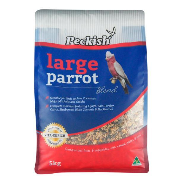 Peckish Large Parrot Blend 5kg Pet: Bird Category: Bird Supplies  Size: 5.2kg  Rich Description: Made...