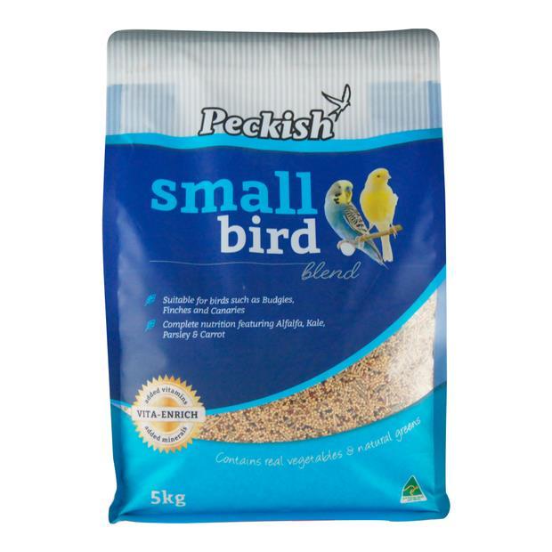 Peckish Small Bird Blend 5kg Pet: Bird Category: Bird Supplies  Size: 5.2kg  Rich Description: Made in...