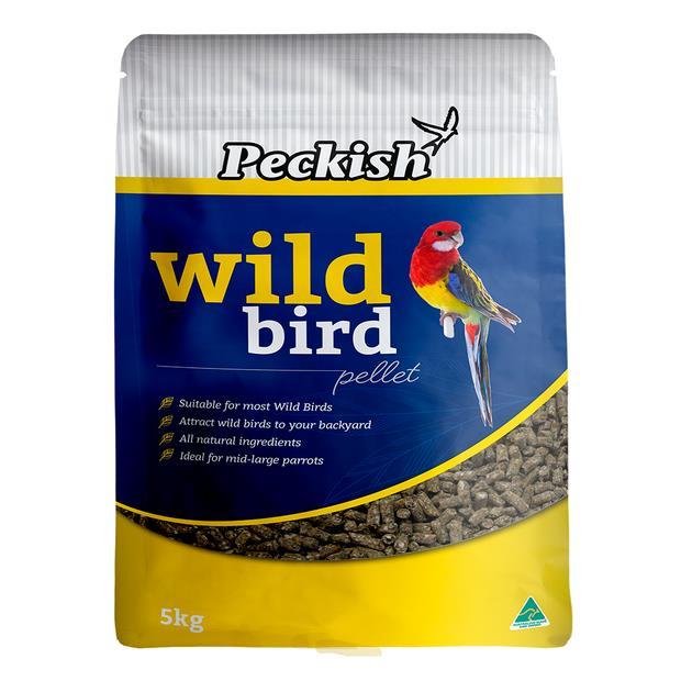 Peckish Wild Bird Pellet 5kg Pet: Bird Category: Bird Supplies  Size: 5.2kg  Rich Description: Made in...