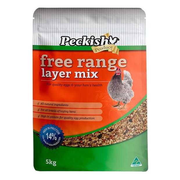 Peckish Free Range Layer Mix 5kg Pet: Bird Category: Bird Supplies  Size: 5.2kg  Rich Description: Made...