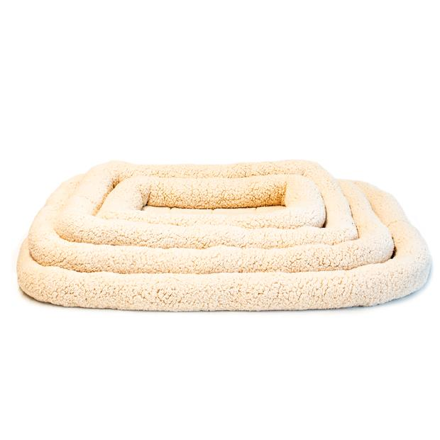 Paws For Life Bolster Mat Tan Small Pet: Dog Category: Dog Supplies  Size: 0.4kg  Rich Description:...