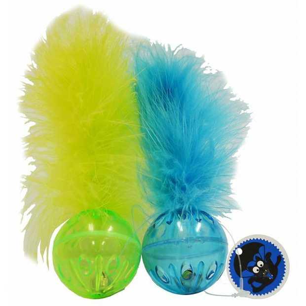 Scream Cat Toy Lattice Ball Green Blue Each Pet: Cat Category: Cat Supplies  Size: 0.3kg Colour: Blue...