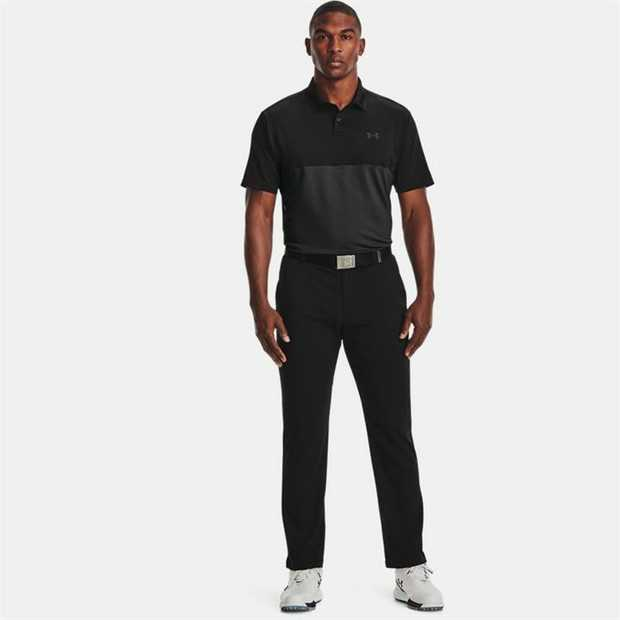 Performance fit Smooth, soft anti-pick, anti-pill fabric 4-way stretch construction moves better in...