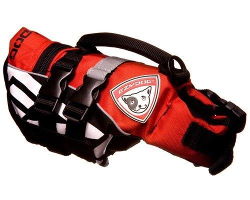 Ezy DogLife Jacket, Dog Floatation Device, Red,XSSize:Extra...