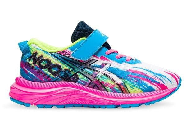 The Asics Gel Noosa Tri 13 will allow kids to take a fun and colourful step wheverever they may...