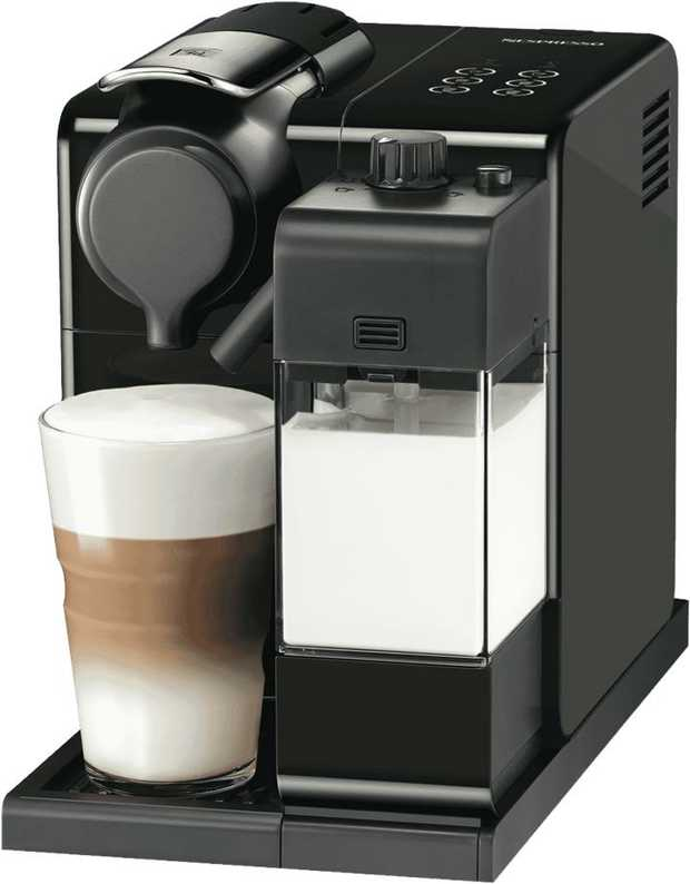 This Nespresso coffee machine's espresso maker allows you to make espresso drinks at your convenience.