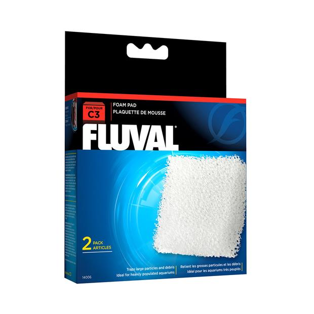 Fluval Hang On Filter Foam Pad C4 Pet: Fish Category: Fish Supplies  Size: 0.5kg  Rich Description:...
