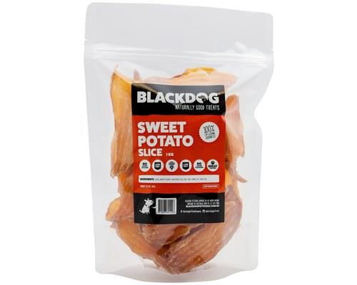 BLACK DOG SWEET POTATO SLICE 1KGSweet potato is a great source of dietary fibre which beneficial to...