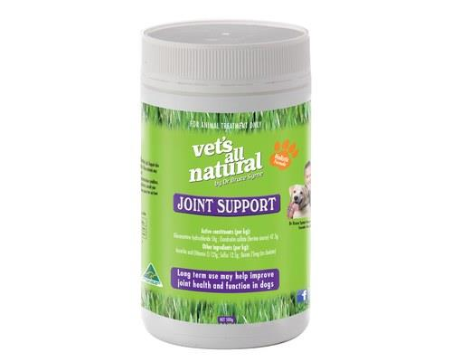 Vets All Natural Joint Support Powder, 500gThis powdered supplement has been developed by Dr Bruce Syme...