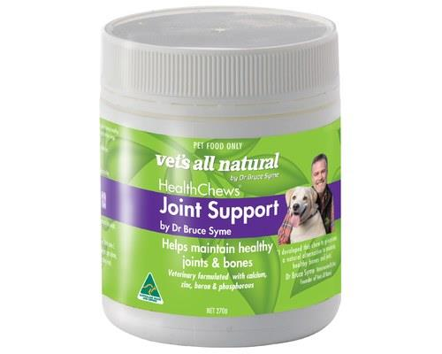 VETS ALL NATURAL HEALTHCHEWS JOINT SUPPORT 270GVets All Natural Healthchews are a natural solution for...