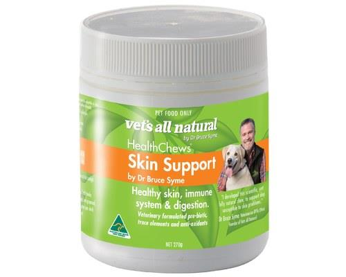 VETS ALL NATURAL HEALTHCHEWS SKIN SUPPORT 270GVets All Natural Healthchews for Skin Support are a tasty...